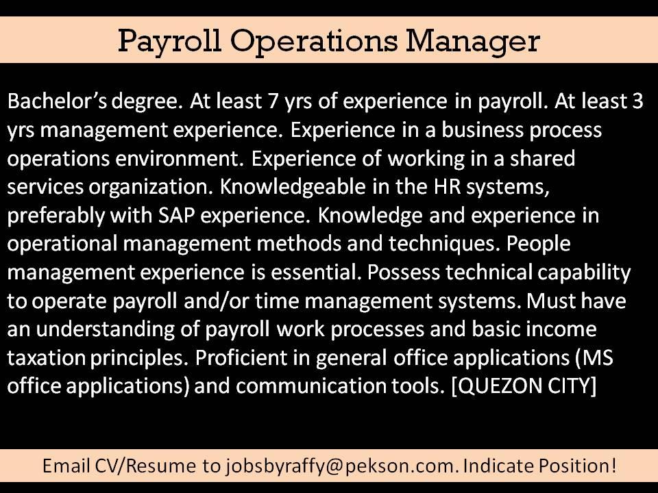 It – Various Skills | Jobs By Raffy