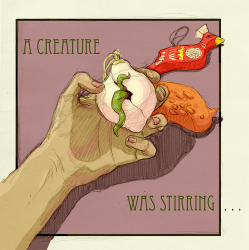 Illustration Friday: Hatch