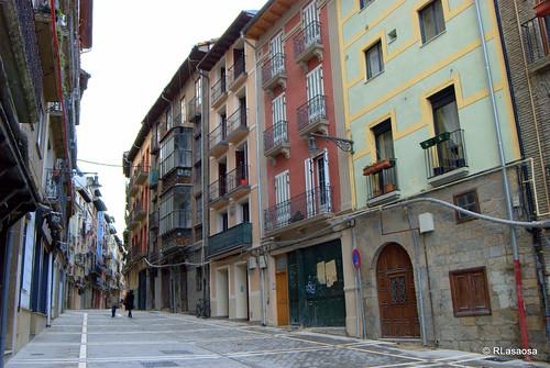 Casas de la calle del Carmen, Pamplona