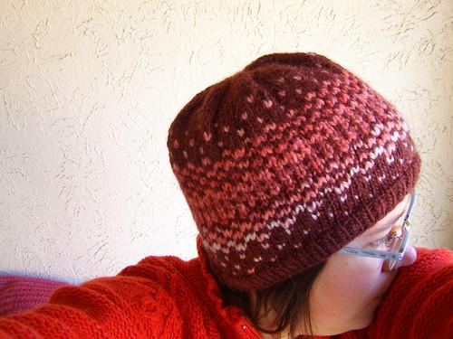 cherry liqueur reflection hat