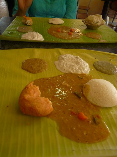 Breakfast at Murugan Idli