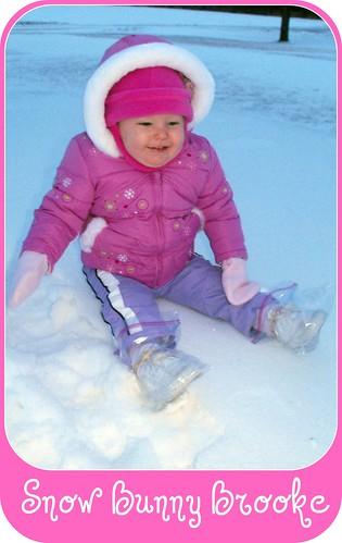 Snow Bunny Brooke