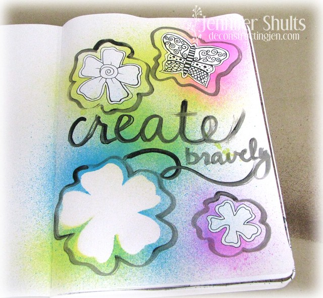 create bravely page in progress