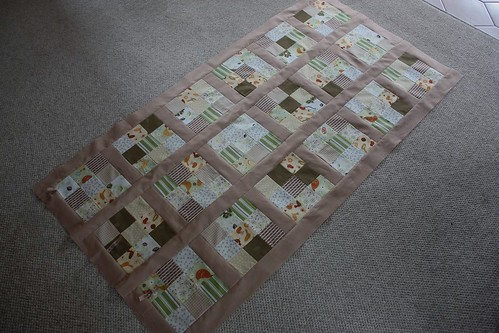 June 18: Quilt top progress