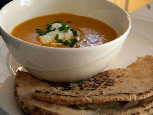 Soup + Pita
