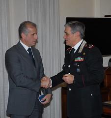 Gioiellerie ringrazia il Generale Tomasone