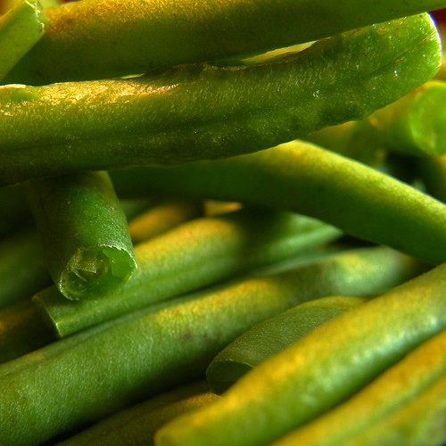 haricots verts / green beans by OliBac, on Flickr