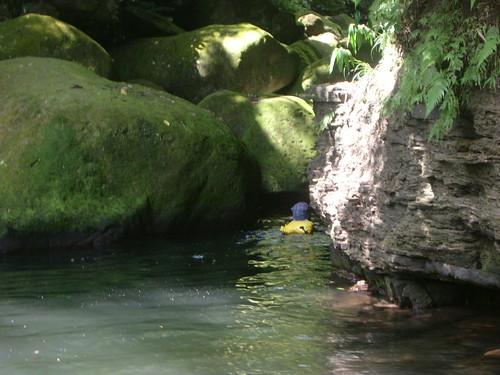 Rivertracing, near Wanli