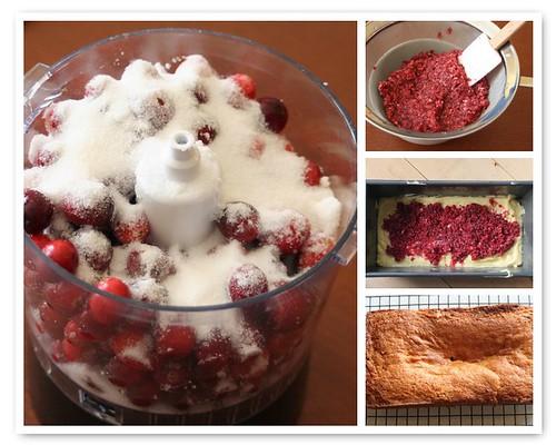 Cranberry Coffee Cake Mosaic