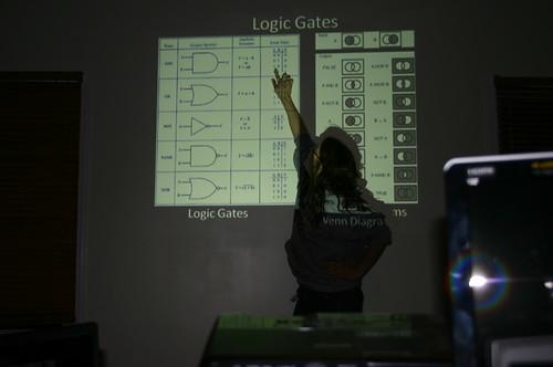 Computer Literacy Program - Software Makeup - Vicky Explains Logic Gates (by Vick)