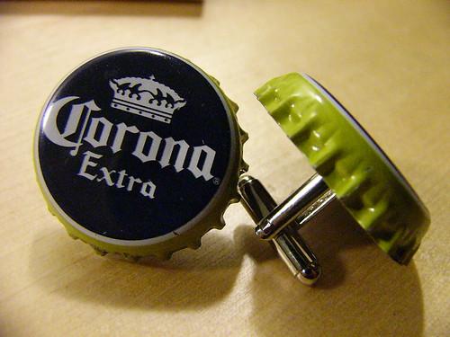 Corona cufflinks