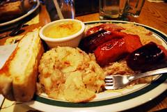 Schmidt's Sausage Haus - Old World Sausage Platter