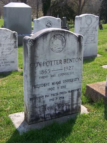 Guy Potter Benton