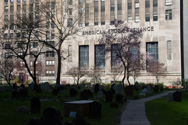 Cemetery & The Stock Exchange