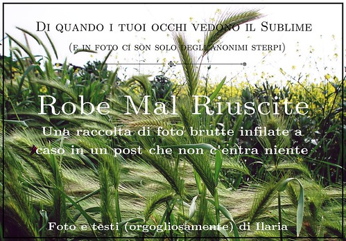 Robe Mal Riuscite (cover)