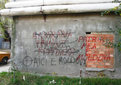 Graffiti_Nationalism Pro-rusesc_Balti