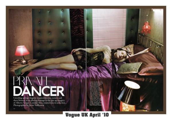 Vogue UK April '10 1