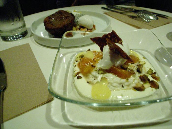 Dessert at Spot