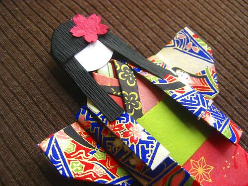 Bastel- & Künstlerbedarf Japanese Origami Paper Doll Making Kit ... | 375x500