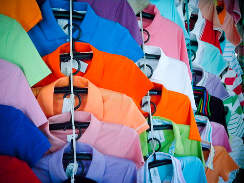 Shirts of Many Colours