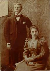 Great-Grandmum and Grandad MacArthur