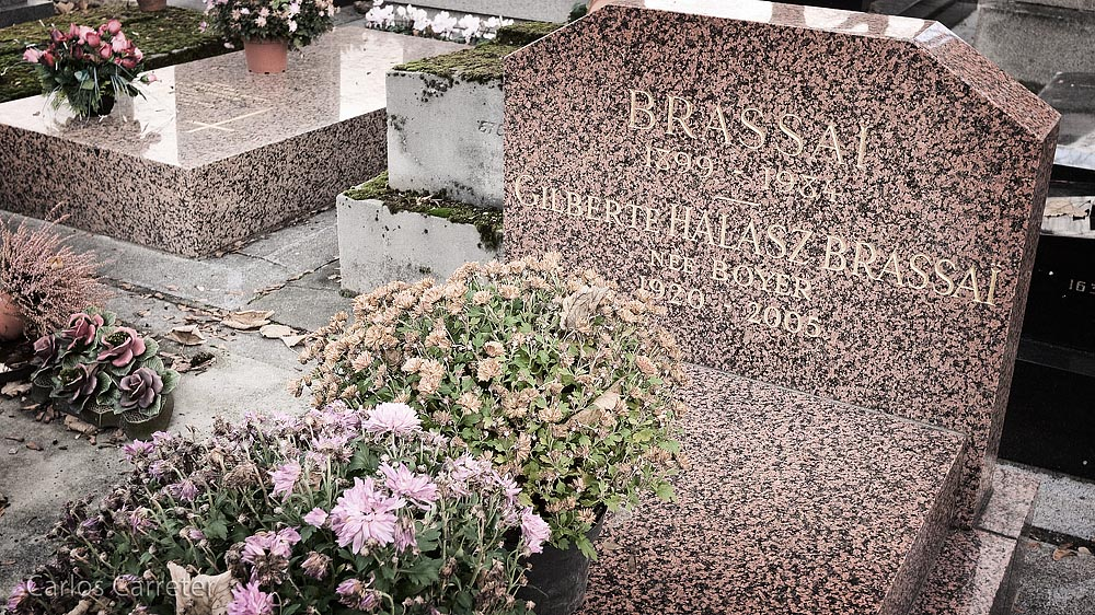 Cementerio de Montparnasse (Brassaï)