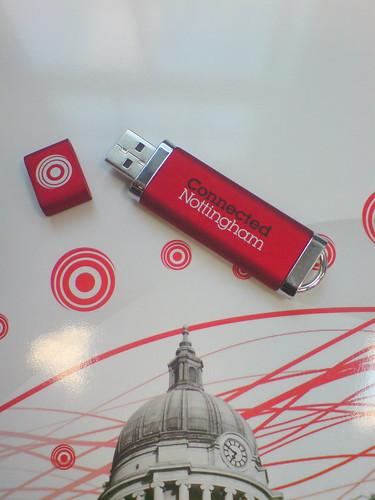 Connected Nottingham USB Memory Stick