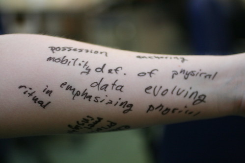 Notes on My Arm 2