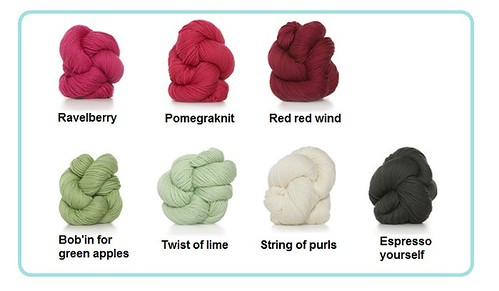 yarn colours