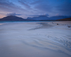 "Luskentyre Dusk • <a style=""font-size:0.8em;"" href=""http://www.flickr.com/photos/26440756@N06/4521551693/"" target=""_blank"">View on Flickr</a>"