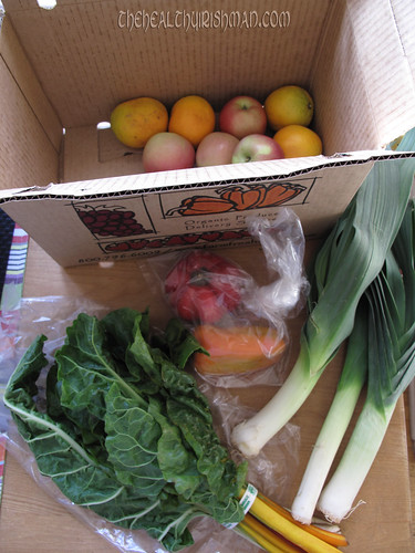 This week's CSA delivery