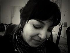 Testing Oldcamera app: Kallitype, my lovely friend Sara