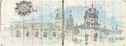 Mosteiro dos Jerónimos Sketch
