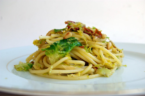 Pasta with Brussels Sprouts and Pancetta II