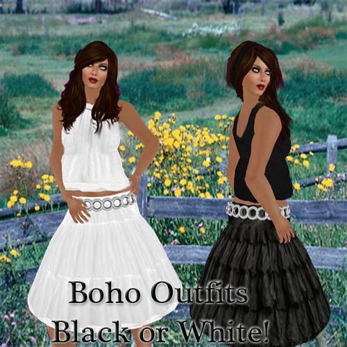 Boho Outfits Black or White 60L$ Special Offer