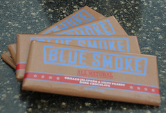 Blue Smoke's Salty Peanut-Jalapeno Chocolate Bar