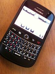 Real Black Blackberry Bold