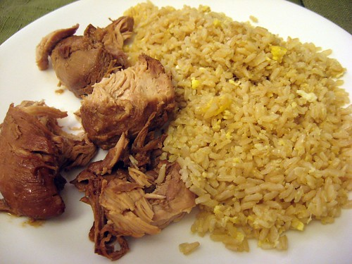 Adobong Manok w/Garlic Fried Rice #2