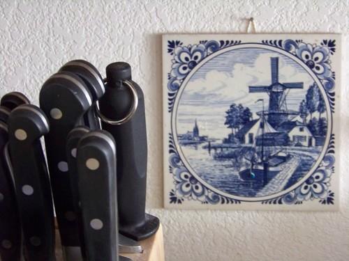 windmills in the kitchen b