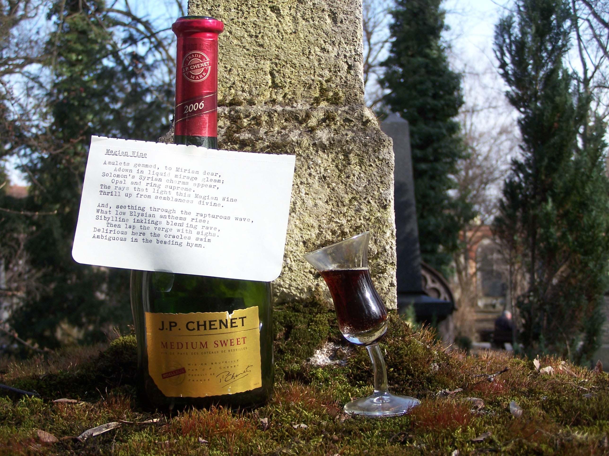 Südfriedhof München, Magian Wine