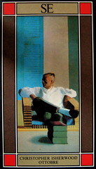 Cristopher Isherwood, Ottobre, SE 1987, alla cop.: C. I. and Don Bachardy, di David Hockney, part., (part.), 1