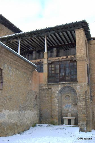 Balcón en la Ronda del Obispo Barbazán, Pamplona