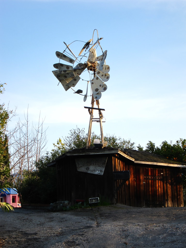 Windmill on Sky