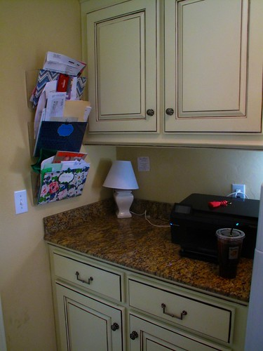 Cleaned up laundry room