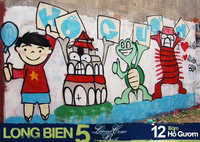 Long Biên 5 Graffiti Battle 10