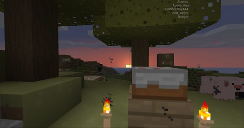 Minecraft - Cake Sunrise