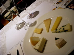 Cheese Plate & Wines, Artisanal Cheese Center