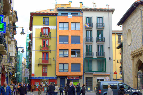Casas en la calle San Nicolás