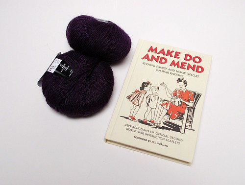 Yarn and Book from Purl Brighton