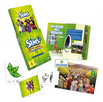"""EA Germany announces 'The Sims 3 Ambitions Collectors Edition"""""""